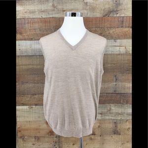 Brooks Brothers 346 Sweater Vest V-Neck
